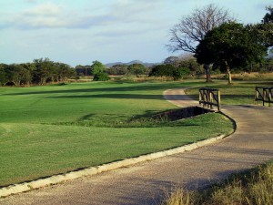 3.  The cart path at Hacienda Pinilla.   (mf)