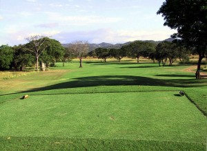 3.  The opening hole at Hacienda Pinilla.   (mf)